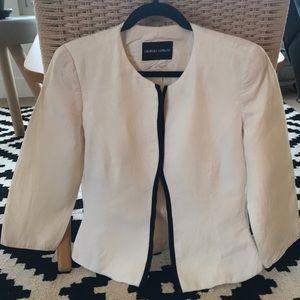 Giorgo Armani Ivory Jacket